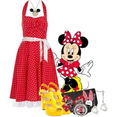 Minnie Mouse - Favorite Disney Character - Polyvore