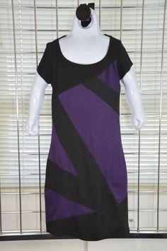 Un Deux Trois Girls Fancy Dress Black and Purple Size 8 On Sale #UnDeuxTrois #DressyHolidayWedding