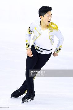 Nathan Chen of United States during the Junior Men short program final during day one of the ISU Grand Prix of Figure Skating Final 2015/2016 at the Barcelona International Convention Centre on December 10, 2015 in Barcelona, Spain.