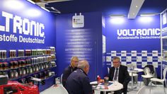 VOLTRONIC GmbH Germany debut in AUTOMECHANIKA FRANKFURT 2014. Show casing in this exhibition VOLTRONIC made in Germany premium quality lubricant, motor oil, additive, car care and chemicals.