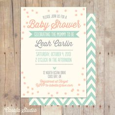 Whimsical+Vintage+Mint+Baby+Shower+Invitation+by+casalastudio,+$16.00