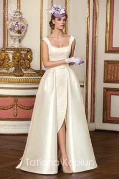 Tatiana Kaplun Bridal 2016 sophisticated elegant wedding gown