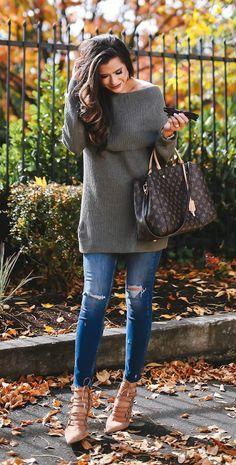 Fall Must Have: Off The Shoulder Sweater @emilyanngemma