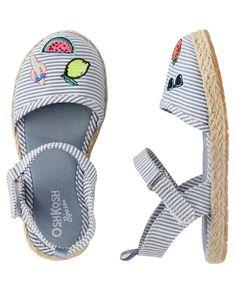 Toddler Girl OshKosh Multi-Striped Sandals | OshKosh.com