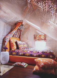 bohemian style bedroom ideas