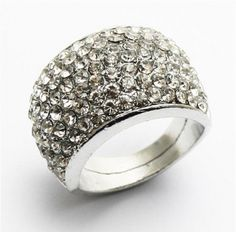 Rhinestone Embellished Ring on BuyTrends.com, only price $6.75