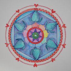 Mandalas and More: birthmandala Decorative Plates, Home Decor, Mandalas, Decoration Home, Room Decor, Home Interior Design, Home Decoration, Interior Design