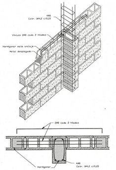 Detalle columna 20x40cm