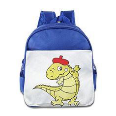 MYKKI Light Green Crocodile Children Designed Bag RoyalBlue ** You can get additional details at the image link.