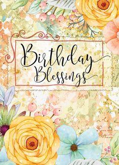 Funny Happy Birthday Greetings, Happy Birthday Wishes Images, Happy Birthday Wishes Quotes, Happy Birthday Pictures, Birthday Blessings, Happy Wishes, Happy Birthday Floral, Birthday Wishes Flowers, Happy Birthday Art