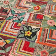 Dash and Albert Rugs Hooked Gypsy Rose Rug