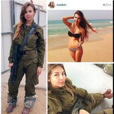Hot Israeli Army Girls Instagram account is my all time fave (31 Photos)