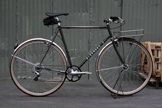 Sizemore Porteur Bike: finally, something with gears for San Francisco!