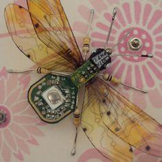 Little Flying Bug by DewLeaf on Etsy, £60.00