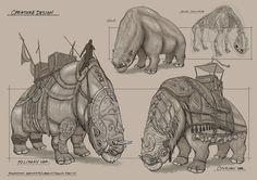 Feng Zhu Design: Creature Sketching