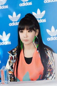 park bom 2ne1 aon shanghai kpop fashion