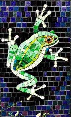 Mosaic frog 🐸 www.liveyourownlifestyle.ca