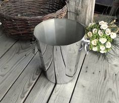 Art Deco Champagne Bucket  French Vintage Ice by MyFrenchBricABrac