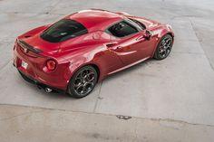 Alfa Romeo 4C. Love this angle.