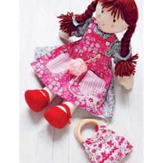 Floral Dolls Sewing Pattern Download