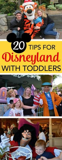 Visiting Disneyland with a toddler? These 20 tips will help you plan the most magical and stress-free Anaheim, California vacation at the Happiest Place on Earth with your little one. (sponsored)