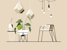 Interesting Find A Career In Architecture Ideas. Admirable Find A Career In Architecture Ideas. Coupes Architecture, Architecture Collage, Architecture Graphics, Classical Architecture, People Illustration, Plant Illustration, Illustrations, Digital Illustration, Interior Sketch