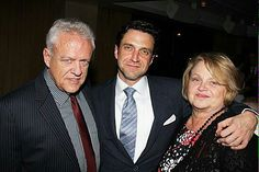 Raul Esparza with his parents