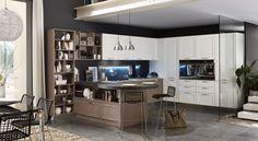 #cucine #stosa #contemporanee #legno #design #stile #qualità #arredamento #affidabilità Cucina Contemporanea Stosa, modello Maxim