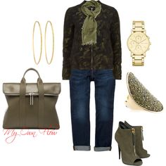 """""""CAMO"""" by myownflow on Polyvore"""