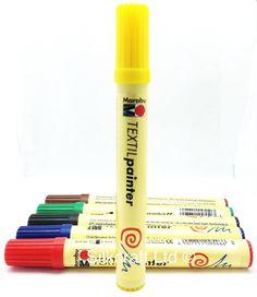 Marabu Textil Painter 2-4 mm Gelb http://marabu.com/k/tpg #Marabu #TextilPainter