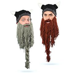 ThinkGeek :: Dwarven Beard Hat - 40€