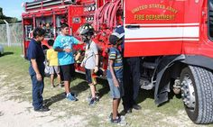 Rangers learn fire safety at Torii Station | Stripes Okinawa