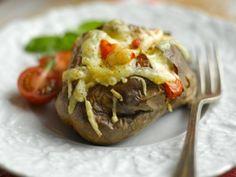 Probieren Sie das leckere Rezept für Backkartoffeln mit Jarlsberg von EAT SMARTER.