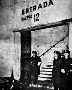 Tragedia en el futból de la Puerta 12, en el Estadio de River Plate, el  Monumental en un Clásico Boca-River (23.06.1968), Nuñez,  Buenos Aires