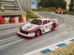 Slotcar ho custom Martini Porsche 935/78 6h Silverstone 1978