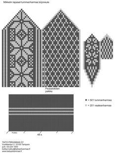 Neulo upeat Mikkelin lapaset | ET Mittens Pattern, Mitten Gloves, Diy, Socks, Patterns, Block Prints, Bricolage, Diys, Sock