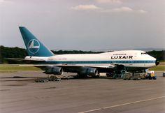 LX-LGX Luxair Boeing 747-SP