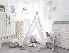 White Done Right: 19 Wonderfully White Nurseries: Nordic Charm