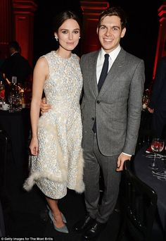 Parents-to-be: Keira Knightley and husband James Righton have confirmed they are expecting...