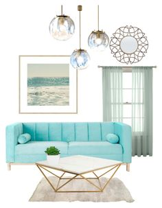 """"""""""" by annaquaintance ❤ liked on Polyvore featuring interior, interiors, interior design, home, home decor, interior decorating, Martha Stewart and Nuevo"""