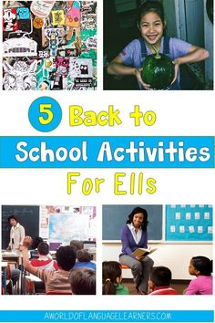 Learn easy back to school ideas to support your English Language Learners. This includes having students share an important object and review school rules. These activities will help ELLs have a great start to the year. Back To School Activities, School Ideas, Teaching Strategies, Teaching Ideas, Some Sentences, School Routines, English Language Learners, Classroom Community, Student Engagement