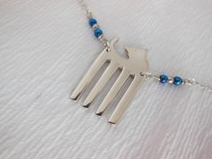 Antique Fork Necklace
