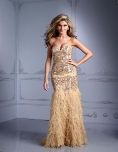 Terani GL2311, available in raeLynns.com Price is only $1,892!!! #womensfashion  #Strapless