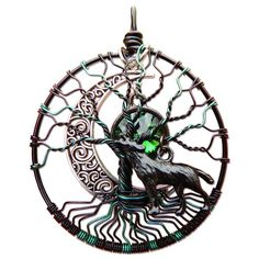 Hel Tree of Life Pendant