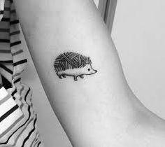Resultado de imagen de hedgehog tattoo