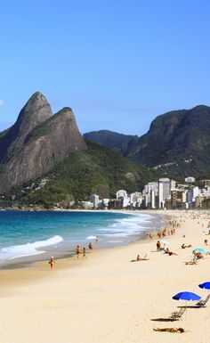 #Copacabana, located in the South Zone of the city of Rio de Janeiro, #Brazil is one of the most famous beaches in the world.