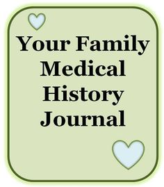 Taking the time to keep a medical history journal for you and your family is very important. It will prove to be extremely valuable for you, your family and future generations. History Keeping a Medical History Journal for You and Your Family History Quotes, History Books, History Facts, Nasa History, History For Kids, Family History, Emergency Binder, Emergency Preparedness, Survival