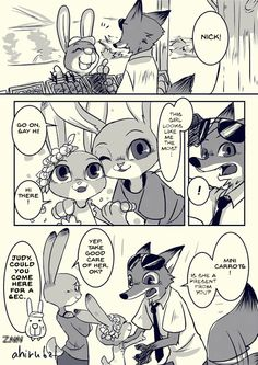Zootopia News Network: Comic: Mini Carrots (Original by Ahiru) (Translated by…