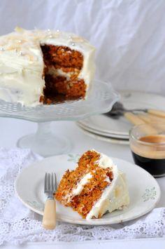 A carrot pie with cream cheese All the week Id been dreaming  Mein Blog: Alles rund um Genuss & Geschmack  Kochen Backen Braten Vorspeisen Mains & Desserts!