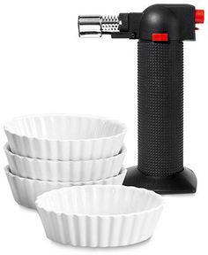 Oggi Creme Brulee Set, 5 Piece - Kitchen Gadgets - Kitchen - Macy's